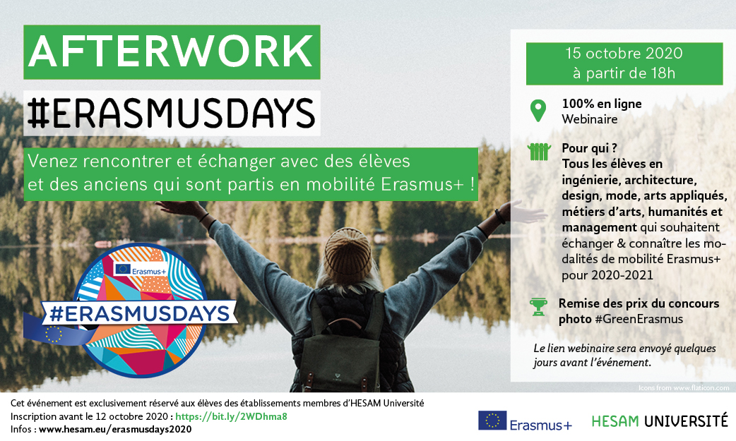 afterwork erasmus days 2020