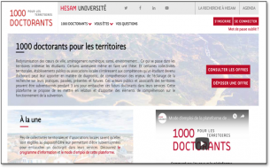 Plateforme 1000 doctorants